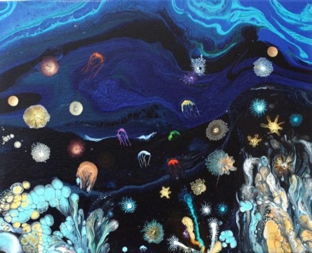 Heart Of Ocean by Samir Panjvani