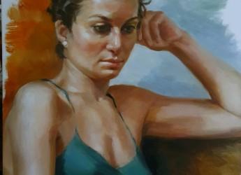 Portrait of young lady by Tatyana Soboleva