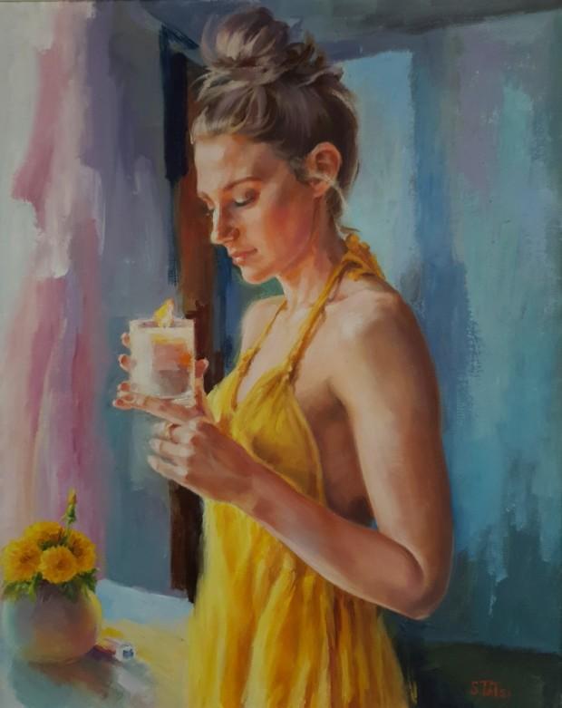 Dandelions by Tatyana Soboleva