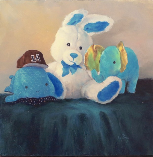 Bunny and Friends by Di King